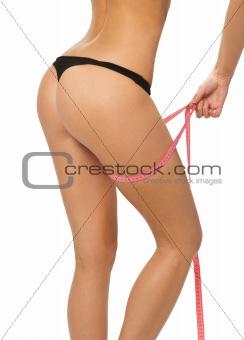 slim waist.girl's torso