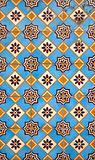 Portuguese facade glazed tiles