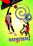 Basketball poster. Vector illustration