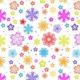 Snowflakes seamless
