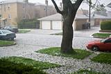 Hail in Chicago