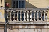 Historical balcony.