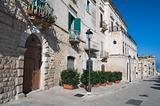 View of Bisceglie. Apulia.