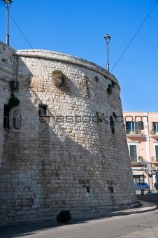 Ancient walls. Bisceglie. Apulia.