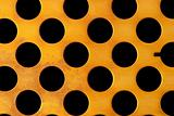 Sheet with holes