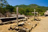 Catholic Grave Bena Indonesia