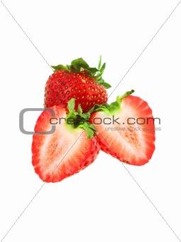 Beautiful ripe strawberries