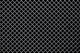 Metal lattice on a black background