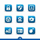 Security icons no.14..smooth series