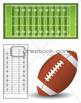 American football set