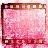 Grunge Film Frame effect