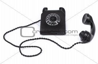 old bakelite telephone