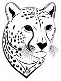 Cheetah, tattoo