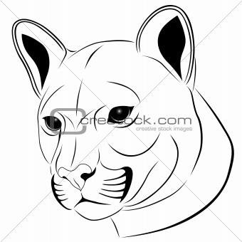 Cougar, tattoo