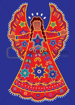 Folk Art Angel