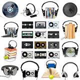 Audio gear set