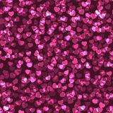 Vector seamless heart texture