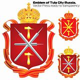 Emblem of City hero Tula.