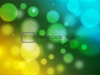 Bright abstract colorful lights background.