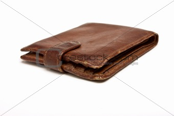 Worn Leather Wallet