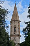 St. Pietro Belltower Basilica. Perugia. Umbria.
