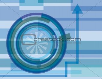 Abstract background of geometric shapes