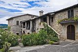Historical house. Bevagna. Umbria.