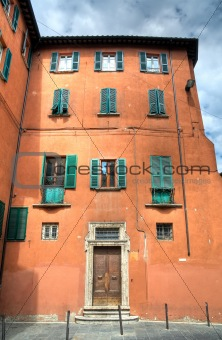 Historic palace. Perugia. Umbria.
