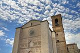 St. Francesco al Prato Church. Perugia. Umbria.
