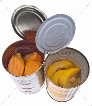 Canned Yams and Squash