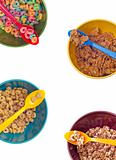 Vibrant Bowl with Breakfast Cereal