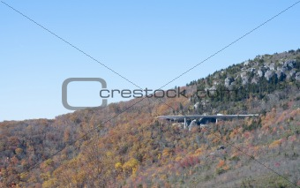 Viaduct Bridge on Grandfather Mountain