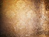 Texture of Grunge old wallpaper