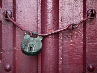 Old Lock Key