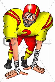 Dazed Football Player