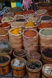 Shop of spices, Africa