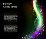 Christmas abstract shine background. Vector