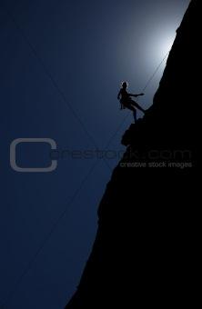 Climber at Dusk