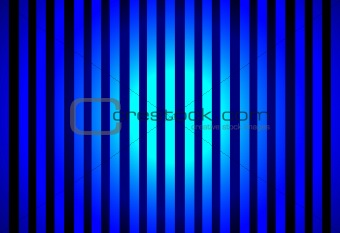 Blue Circle With Lines Design