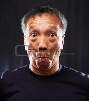 mature chinese man shocked