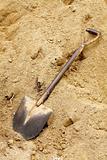 old dirty shovel