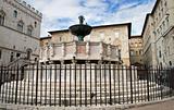 Fontana Maggiore. Perugia. Umbria.