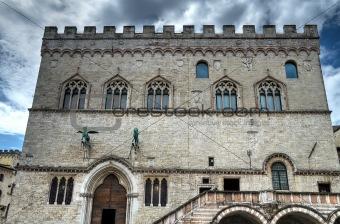 Prior's Palace. Perugia. Umbria.