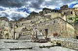 View of Matera. Basilicata.
