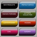 Stylish Communication Fashion Buttons