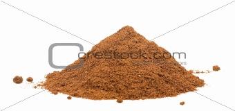 fresh coffee powder