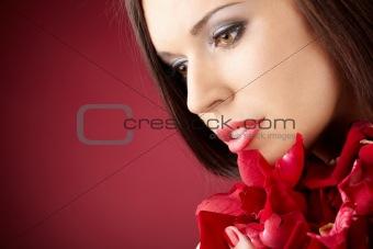 Portrait of the beauty
