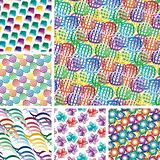 Seamless vivid patterns