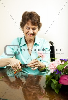 Creating Floral Bouquet