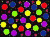 Many-coloured christmas balls